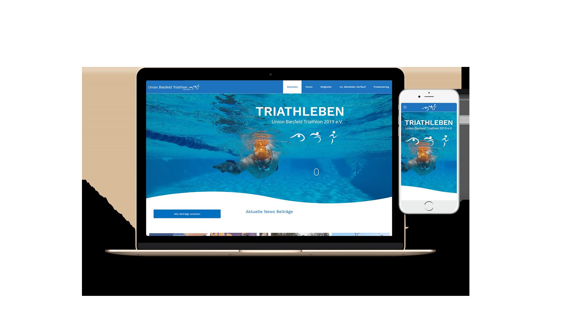 homepage-erstellen-lassen-webdesign-biesfelder-triathlon-webdesigner-kunstration